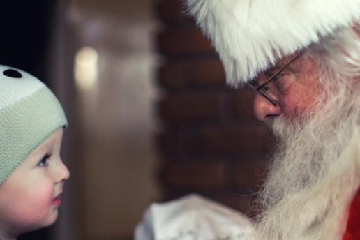 Santa With Baby