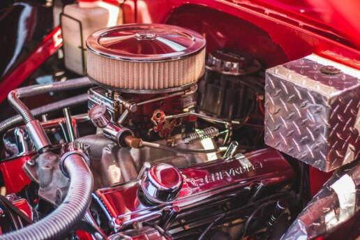 Under The Bonnet of Car